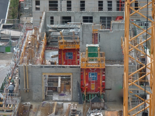 Bâtiment A, 2° étage